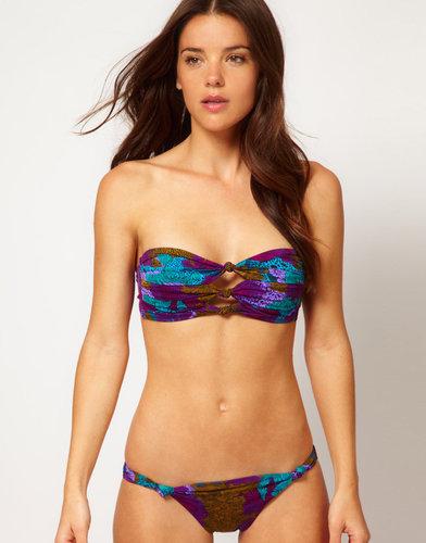 Seventh Wonderland Amadora Triple Knot Bandeau Bikini