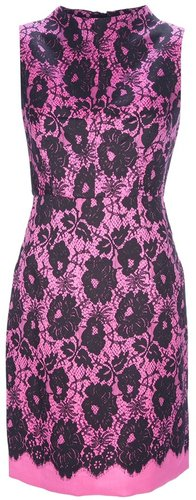 Milly lace print dress