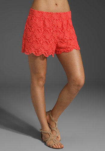Free People Scallop Lace Short