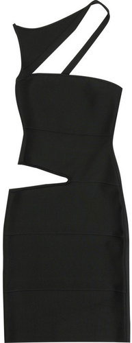 Herv Lger Vivien cutout bandage dress