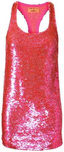 Ashish Sequined tank dress