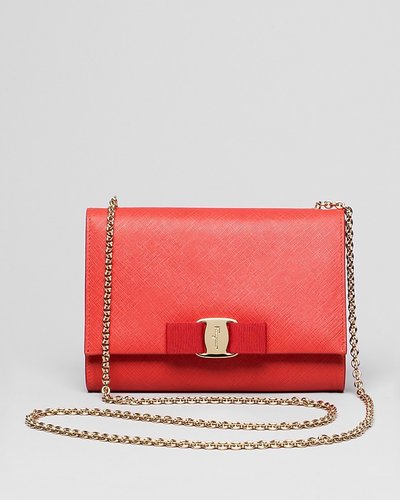 Salvatore Ferragamo Mini Bag - Miss Vara Bow Clip
