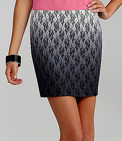 GB Ombre Lace Skirt