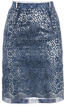 Preen Eva lace skirt