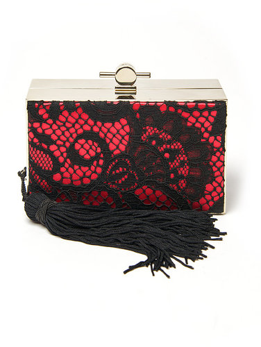 Jason Wu Lace Box Clutch