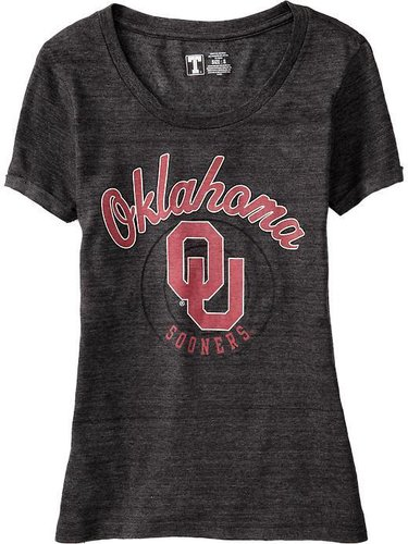 Women's Cuff-Sleeve College Tees