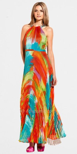 Size 12 Print Pleated Party Dresses from Laundry by Shelli Segal