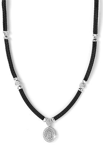 Charriol 'Celtic Noir' Necklace