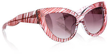 L Farrow X Charlotte Olympia Feather sunglasses