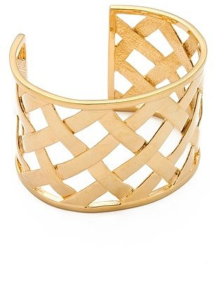 Kenneth jay lane Basket Weave Cuff