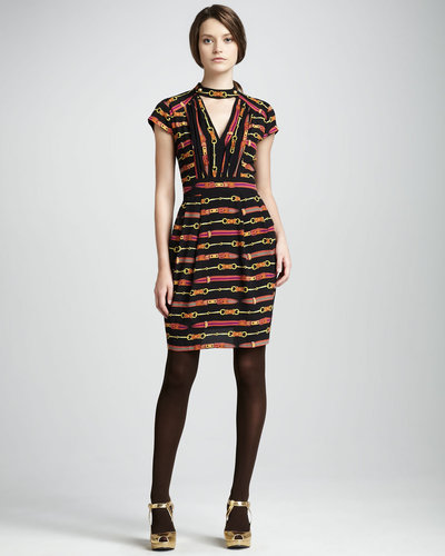 Nanette Lepore Dressage Printed Dress