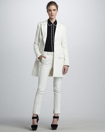 Rachel Zoe Riley Brocade Coat
