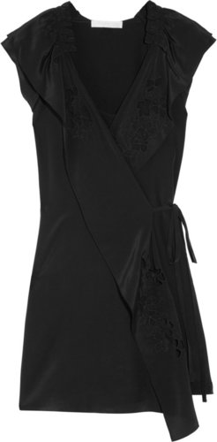 Vanessa Bruno Silk wrap dress
