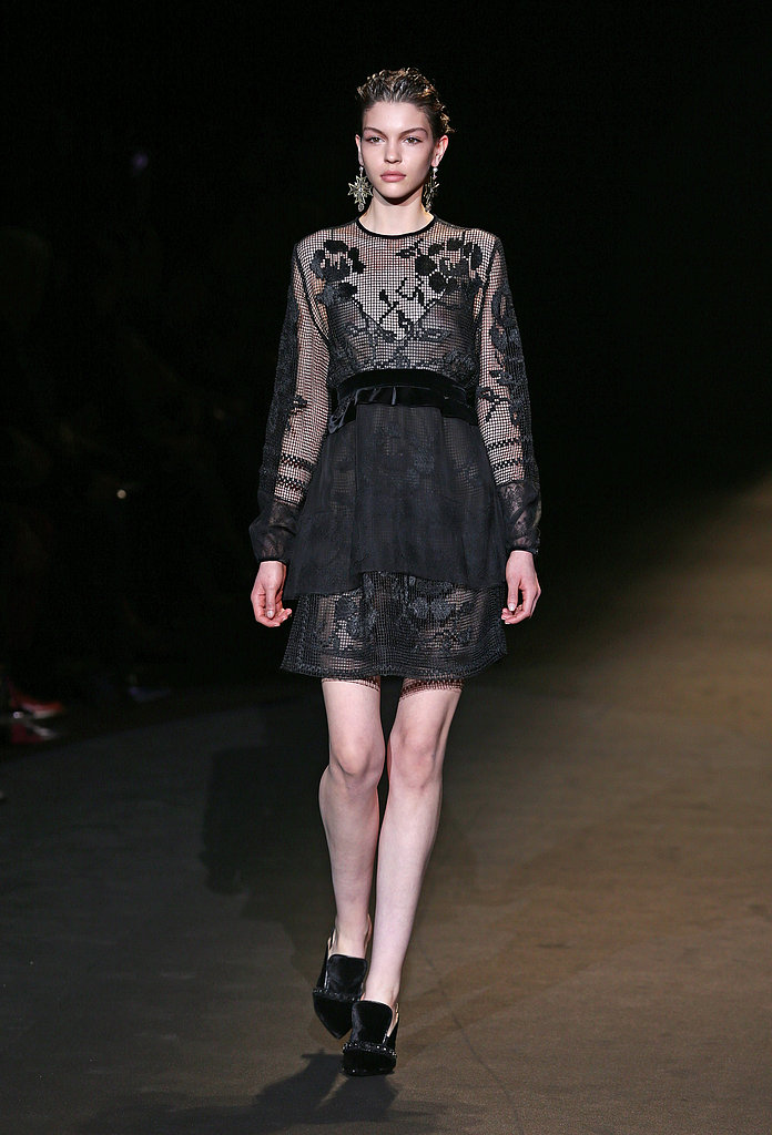 2013 Autumn Winter Milan Fashion Week: Alberta Ferretti