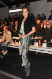 Yasmin Le Bon at the Maria Grachvogel Fall 2013 show in London.