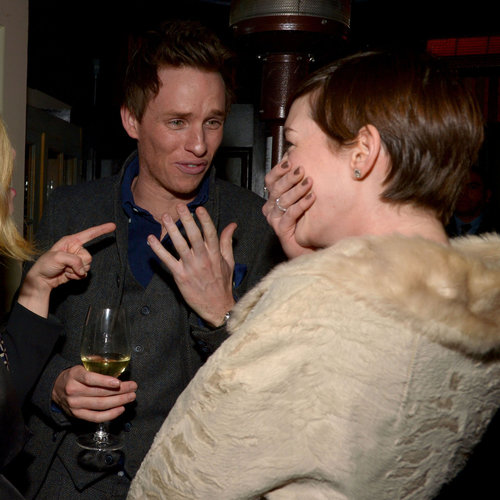 2013 Pre-Oscars Parties: Anne Hathaway, Jennifer Lawrence