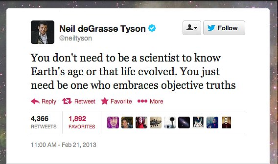 StarTalk Radio host Neil deGrasse Tyson gets to the heart of the matter.
