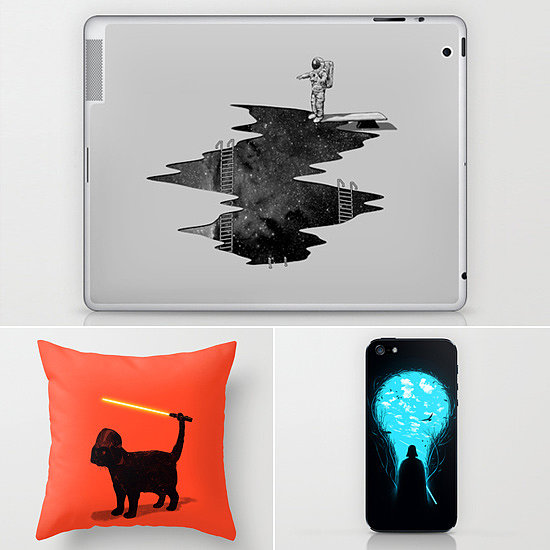 Cats With Lightsabers and Other Clever Sci-Fi Designs From Society 6