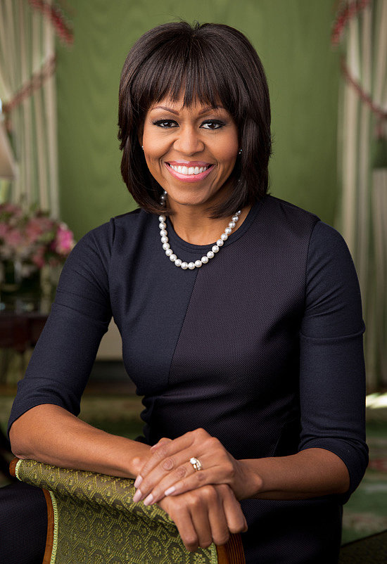 Michelle Obama turned to Reed Krakoff to dress her for her second official White House portrait.