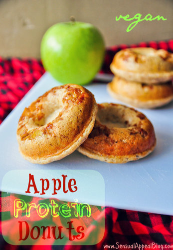 Apple Protein Donuts