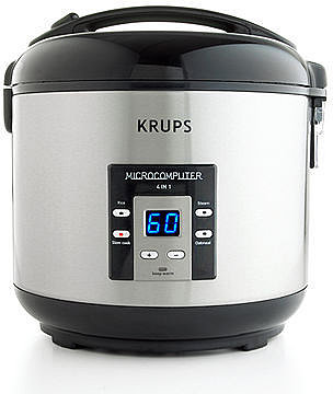 Krups RK7011 Rice Cooker, 4-in-1