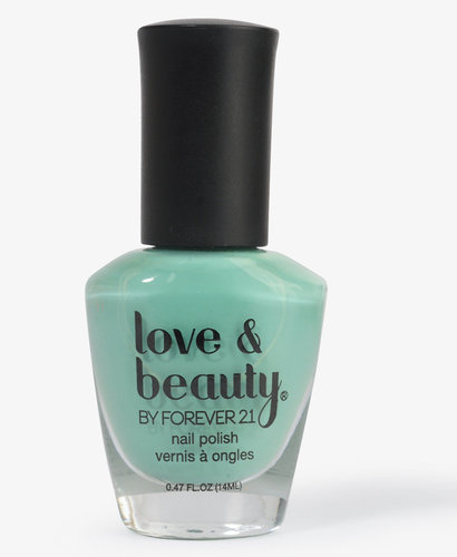 Love 21 Magic Mint Nail Polish