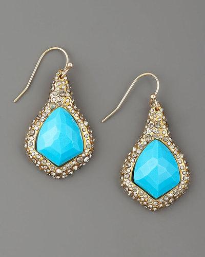 Alexis Bittar Gold Kite Earrings