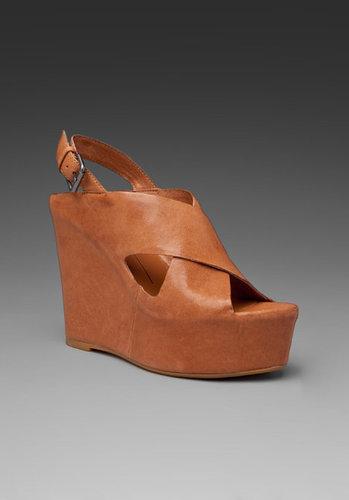 Dolce Vita Julie Leather Wedge Sandal