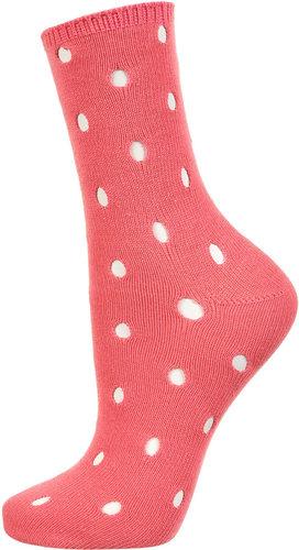 Pink Holey Socks