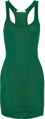 Étoile Isabel Marant Janet racer-back cotton-jersey tank dress