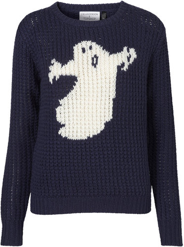 **Ghost Handknit Sweater by J.W. Anderson for Topshop