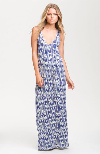 Soft Joie Ikat Print Maxi Dress
