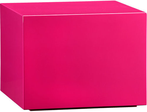 City Slicker Hot Pink Side Table