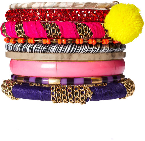 ASOS Eclectic Mixed Friendship Bracelet Pack
