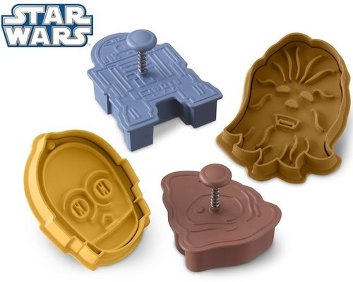 Star WarsTM Droids & Aliens Cookie Cutters, Set of 4