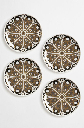 Jonathan Adler 'Peacock' Porcelain Coasters (Set of 4)