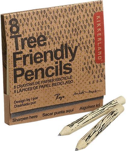Set Of 8 Tree Friendly Pencils