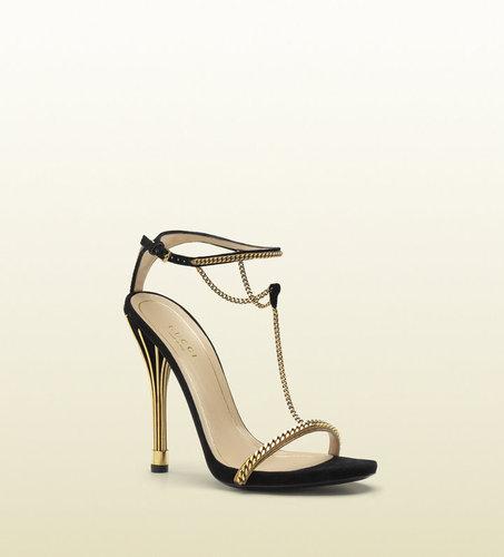 'ophelie' High Heel T-Strap Sandal.