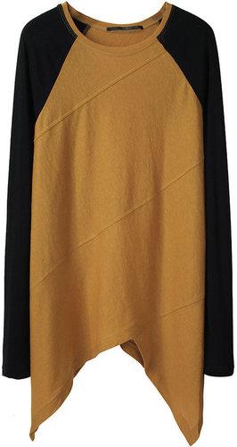 Proenza Schouler / Long Sleeved Spiral T-Shirt