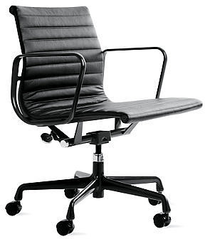 Eames Aluminum Group Management Chair with Powder-Coated Frame