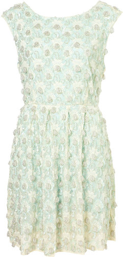 **LIMITED EDITION Mint Embellished Dress