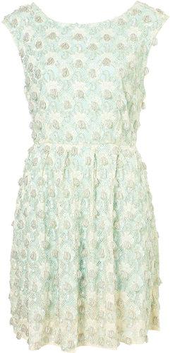 **LIMITED EDITION Mint Embellished Dress