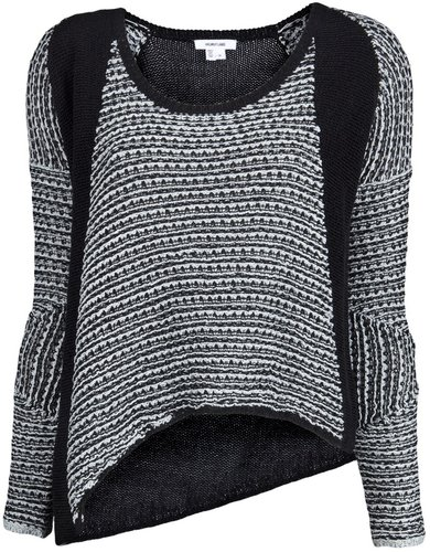 Helmut Lang CORD CROP PULLOVER