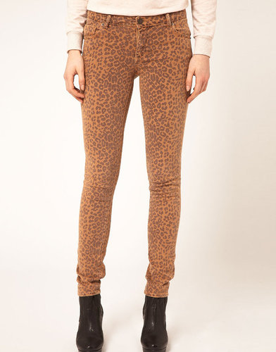 Warehouse Animal Print Jean