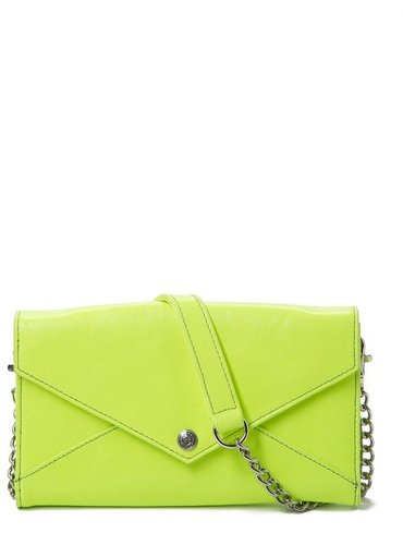 Rebecca Minkoff Neon Wallet on a Chain