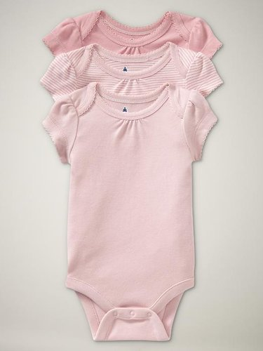 Favorite picot bodysuit (3-pack)