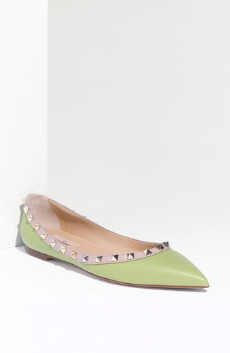 Valentino &#039;Rockstud&#039; Ballerina Flat