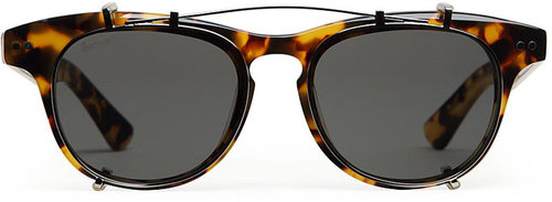 Illesteva / Lenox Clip-On Sunglasses