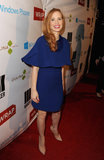 Jessica Chastain had a lot to smile about at a pre-Oscars party in Beverly Hills on February 20.