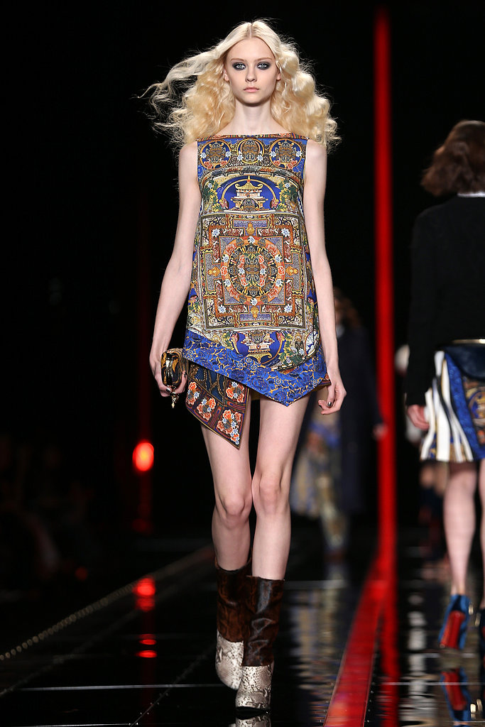 2013 Autumn Winter Milan Fashion Week: Just Cavalli